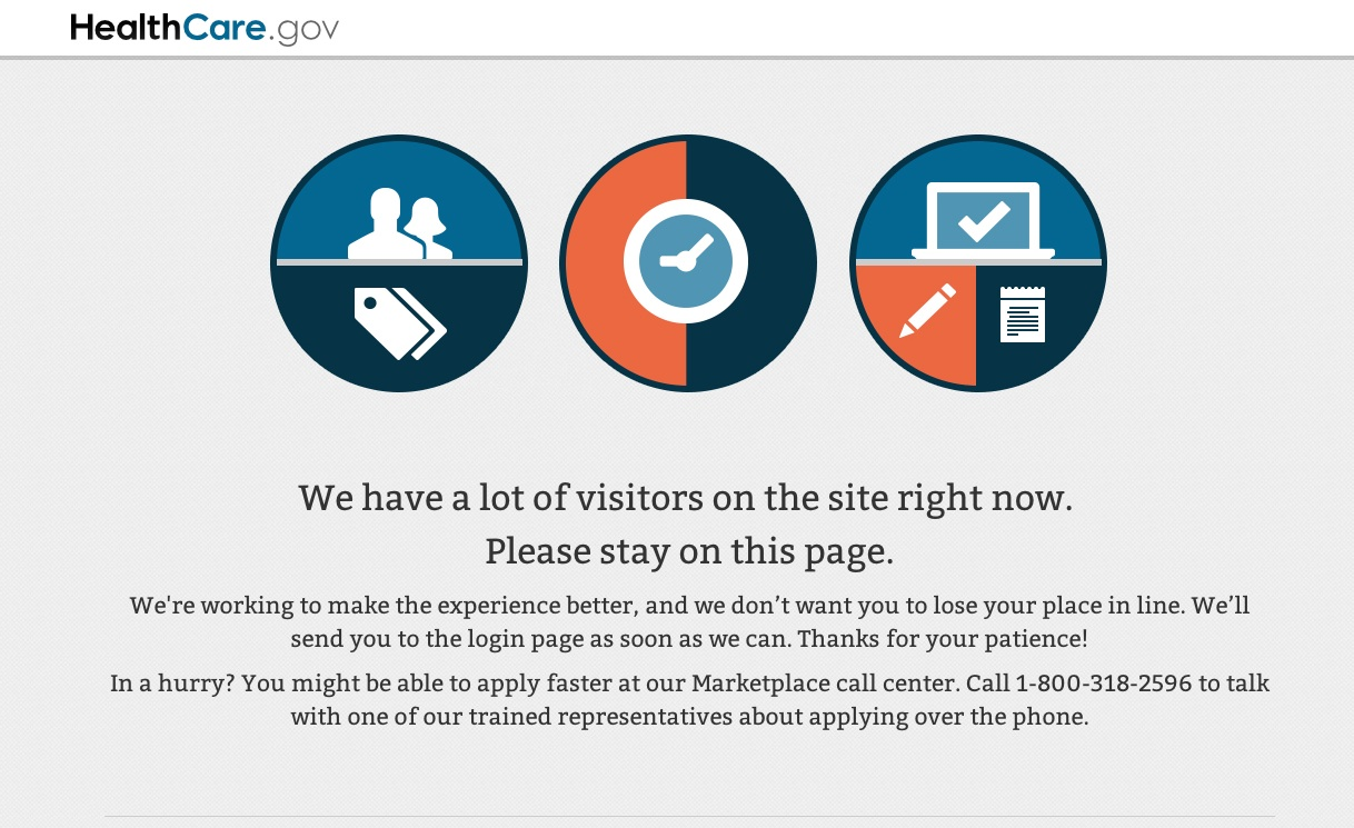 healthcare.gov waiting room image