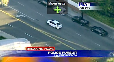 high speed chase la