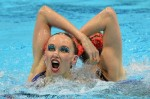 REMEMBERING THE OLYMPICS: Hilarious Synchronized Swimmers Freeze Frame!