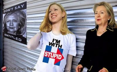 hillary I'm With Stupid.