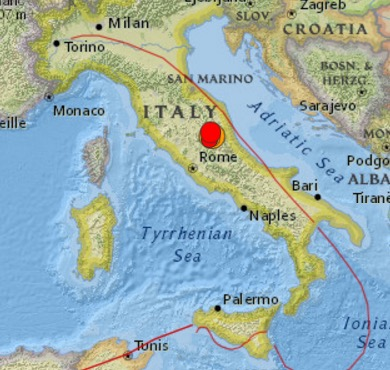 italy rome earthquake 6.2 Earthquake ROCKS ROME ITALY Significant Casualties Extensive Damage Likely