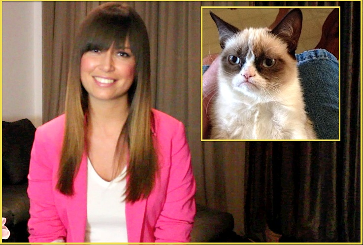 ivon CAT CHING! Grumpy Cat Scores 5 Figure Contract With Friskies!