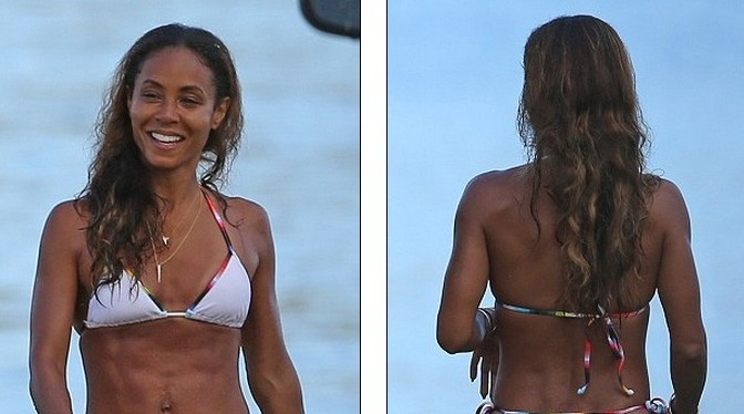 jada pinket smith2 e1407973259734 Jada Pinkett Smith BIKINI Looking GOOD Coming AND Going