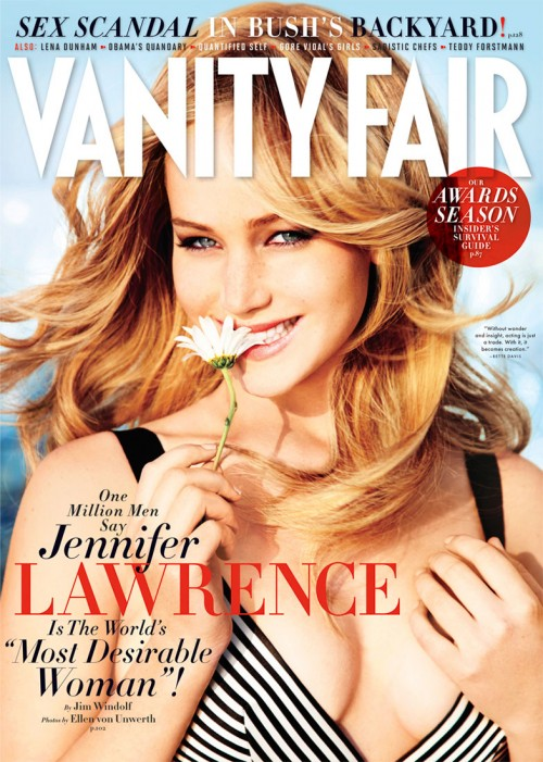 Jennifer Lawrence for Vanity Fair Mag