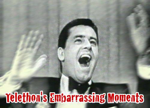 jerrylewishead FINKE DESTROYS OSCAR Jerry Lewis Telethon Circa 1966