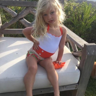 jessica simpson daughter in bikini