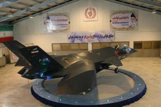 jet in showroom Iran Photoshops New Jet Actually Flying
