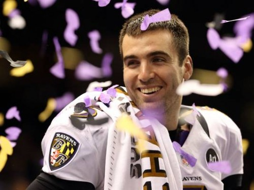 joe flacco 2013 02 04 4 3 r536 c534 500x374 Highest Paid NFL Quarterback is...