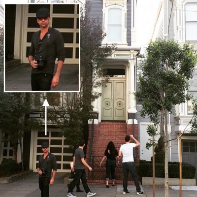 john stamos at full house home