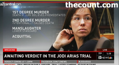 jois VERDICT REACHED IN JODI ARIAS TRIAL (LIVE FEED)