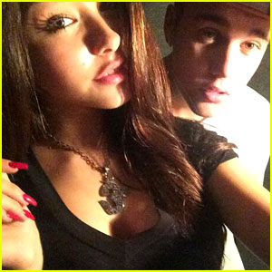 justin-bieber-madison-beer-studio
