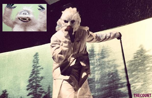 kanyelead Kanye West Abominable Snowman Costume