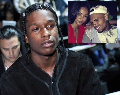 U.S. rapper ASAP Rocky attends the Alexander Wang Spring/Summer 2013 collection during New York Fashion Week