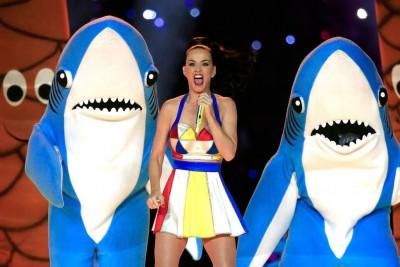 katy perry super bowl left shark meme 2