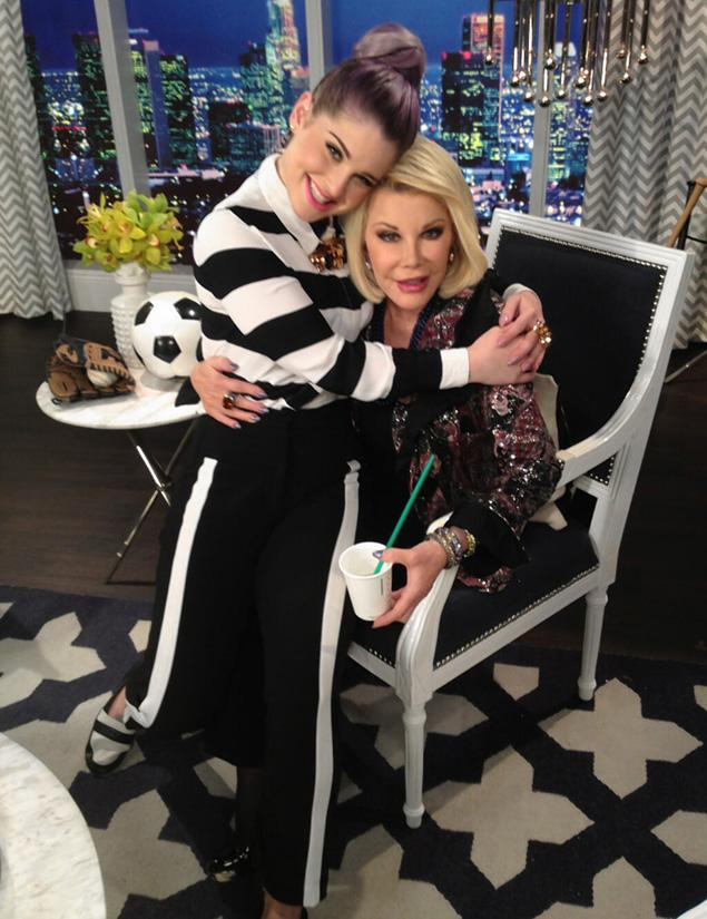 kelly23f 1 web Kelly Osbourne Returns To Work After Seizure Sharon Tweets Shes Naughty