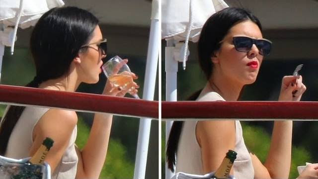 kendall-jenner-drinking-cannes