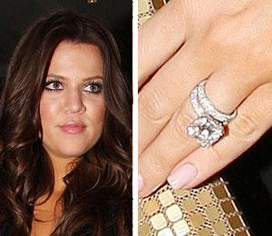 Khloe Kardashian Spotted Wearing Wedding Ring