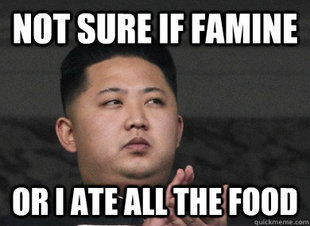 kim jong un fat meme i11 Kim Jong Un Memes FLOOD Internet Post Rodmans Visit