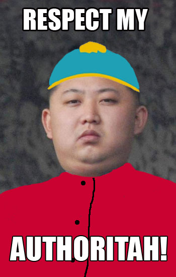 Kim Jong Un Jokes Kim-jong-un-respect-my-authoritah