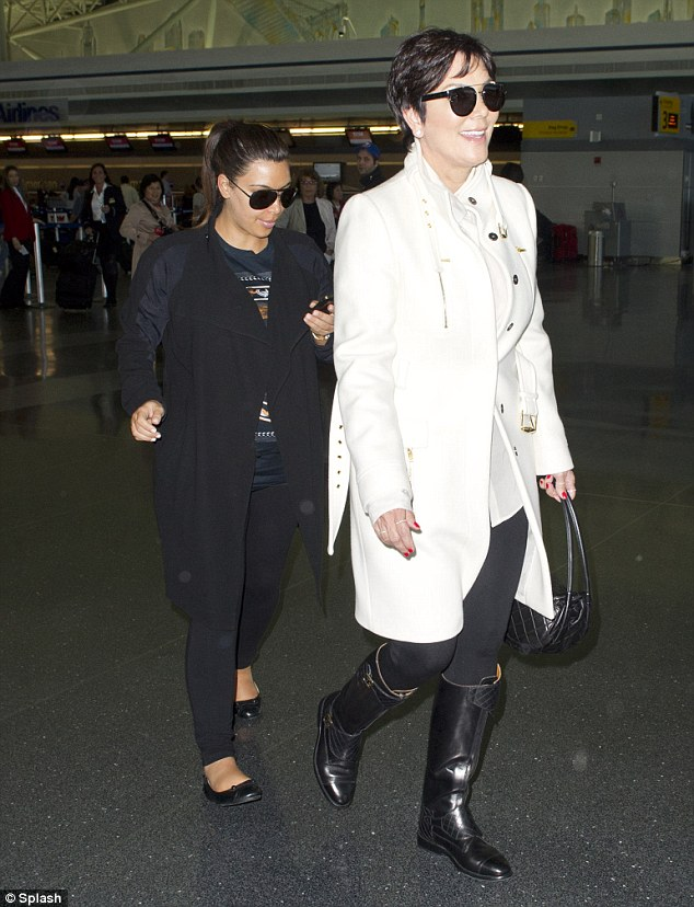 kim k short Kim K Gives UP Resorts To FLAT SHOES Revealing Kris Jenner Height Difference!