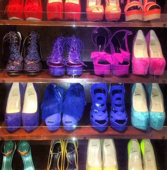 kimcloset3 1518308822915700717 Kim Kardashian Has a Serious Shoe Fetish