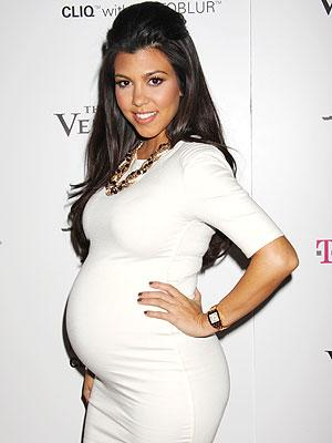 kourtney kardashian preg Will Kim Ks Baby Bump Be Bigger Than Her Behind?