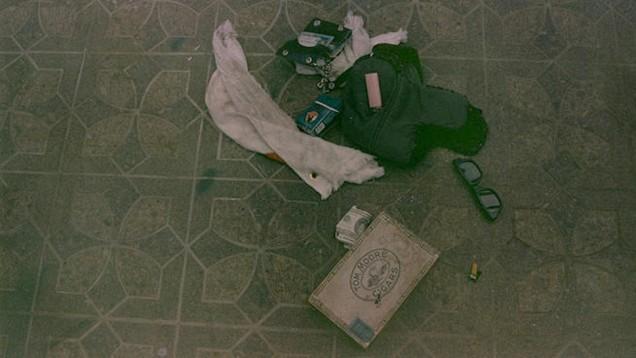 kurt cobain death scene