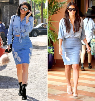 kylie jenner copying kim 3