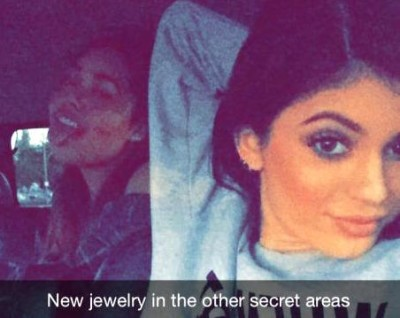 kylie jenner new piercings