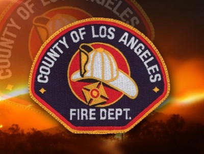 la county firefighter badge 2 400x301 LA County Firefighter STABBED In Hospital ER