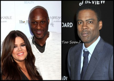 Chris Rock's comment on Lamar & Khloe is spot-on!