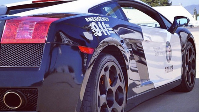 lapd Lamborghini 3
