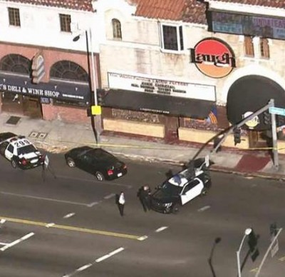 laugh factpry Suspicious Package1 400x388 Laugh Factory Sunset BLVD Evacuated Over Suspicious Package