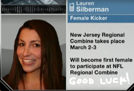 lauren silberman nfl kicker tryout woman history  oPt Who Is Lauren Silberman?