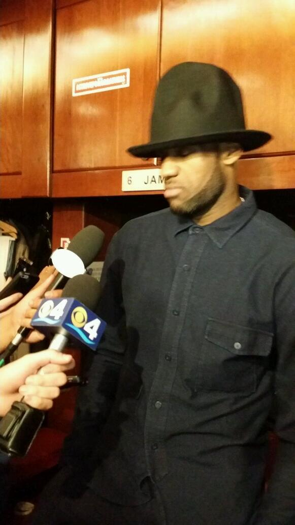 lebron james happy hat