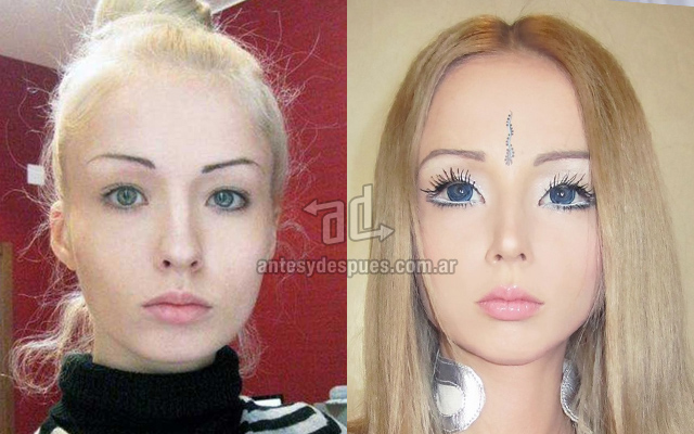 living doll valerie lukyanova real barbie www.antesydespues.com .ar  By Request: 3 Human Barbie Dolls Caught Out Of Costume