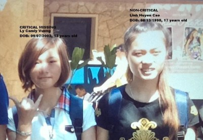 ly camly vuong linh huyen cao missng lax 400x276 Young Girls VANISH After Getting Separated From Tourist Group at LAX