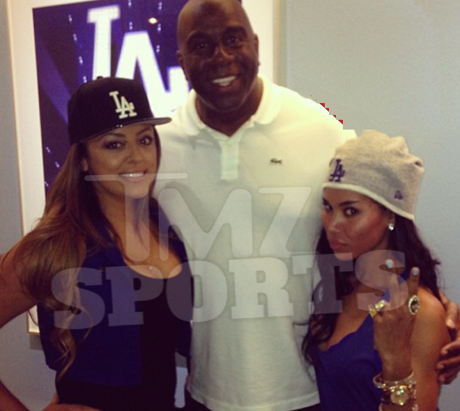 magic johnson instagram-v-stiviano