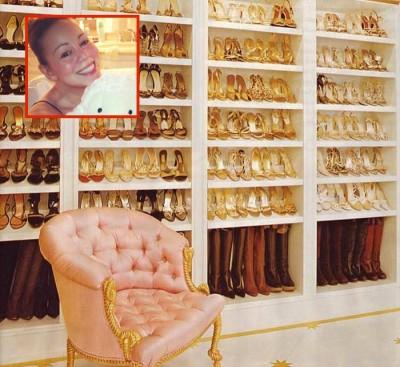 mariah carey shoe collection