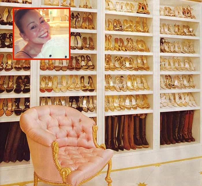 mariah carey shoe collection - TheCount.com