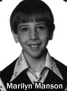 marilyn manson school pic Awesome Celebrity Youth Pictures