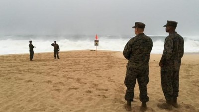 marines chopper crash hawaii search