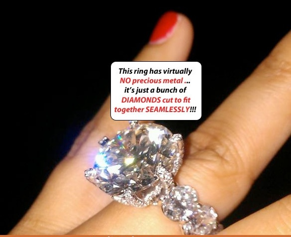 mayweather engagement ring1 Floyd Mayweather Jr. Most Awesome Engagement Ring Ever?