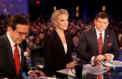 megyn kelly debate trump Fox News anchors Kelly, Bret Baier Chris Wallace.