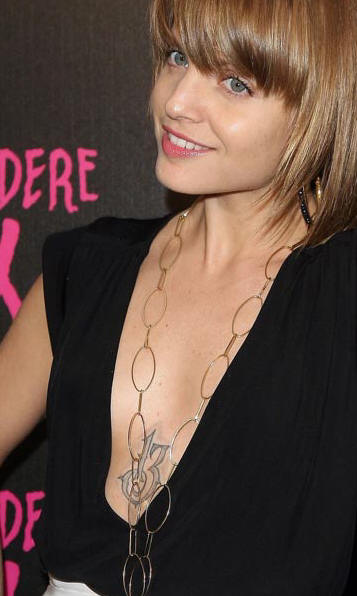 mena13 AMERICAN BEAUTY: Mena Suvari Tattoos And Freshly SINGLE