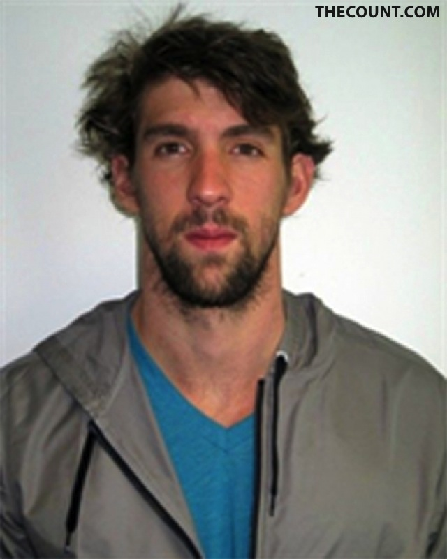 ONLY ON THECOUNT: Michael Phelps DISASTER Official Olympic Photo
