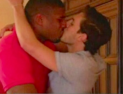 michael sam kissing boyfriend espn