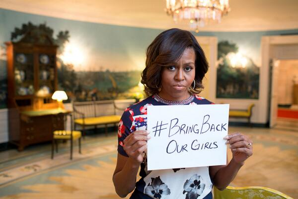 michelle obama sad duck face