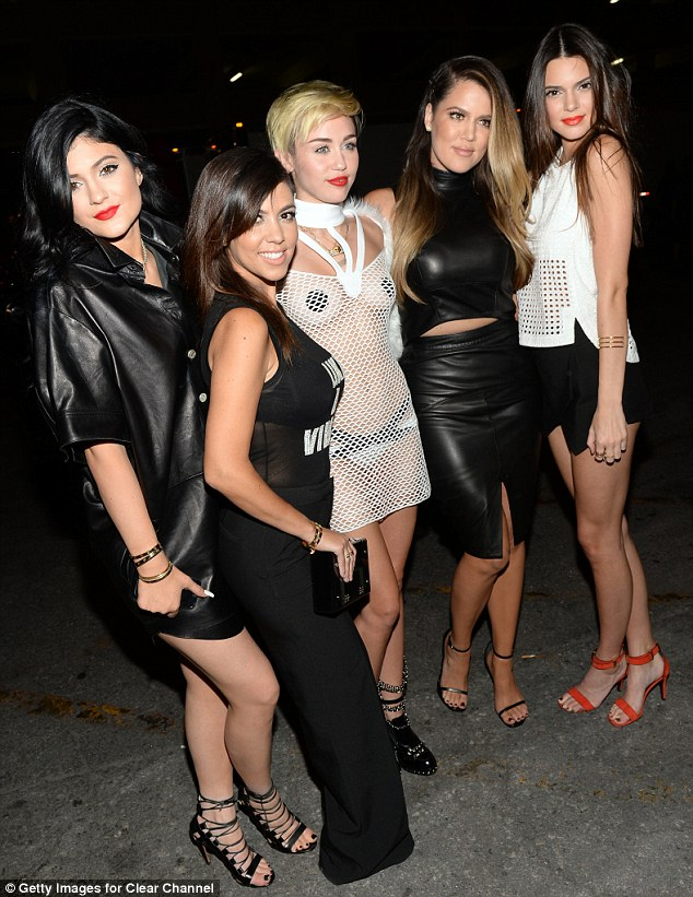 miley with kardashians iheart Keeping Up With The Kardashians RATINGS CRISIS! Viewership PLUNGES 40%