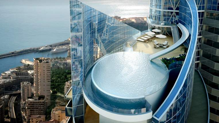 monaco penthouse 2 1 762x428 The $400 Million Dollar Apartment